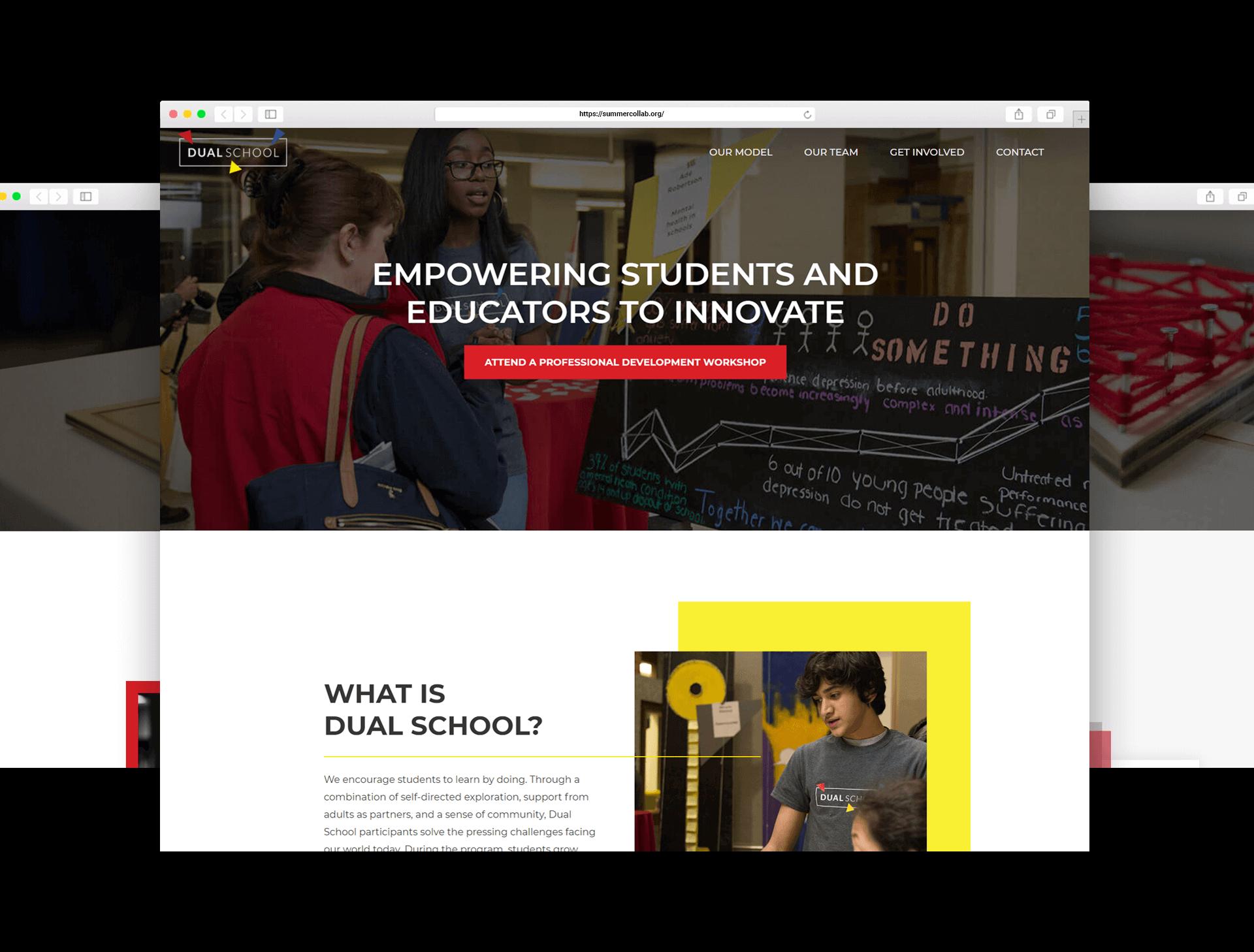 Dual School Homepage